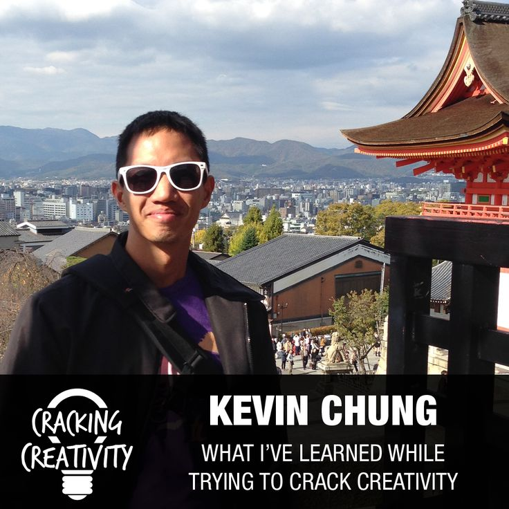 Kevin Chung on Art, Creativity, and Lessons Learned While Cracking Creativity #podcast #KevinChung #CrackingCreativity http://marketingtrw.com/blog/kevin-chung-on-art-creativity-lessons-learned-while-cracking-creativity-episode-50/