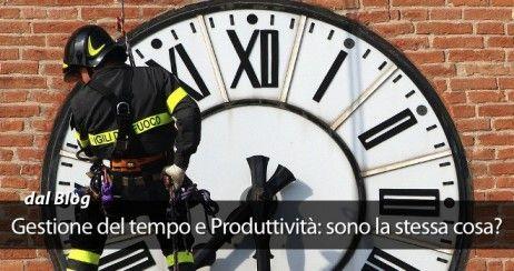 Gestione del tempo e produttività sono la stessa cosa?