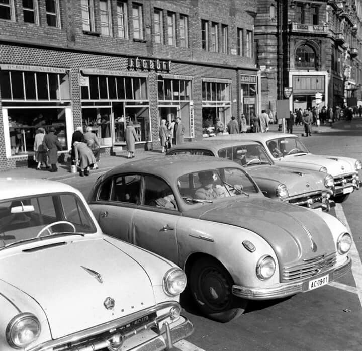1959. Felszabadulás tér, Jégbüfé