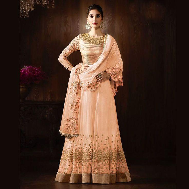 indian wedding bridal bollywood designers anarkali gowns salwar kameez suits #Handmade #SalwarKameez