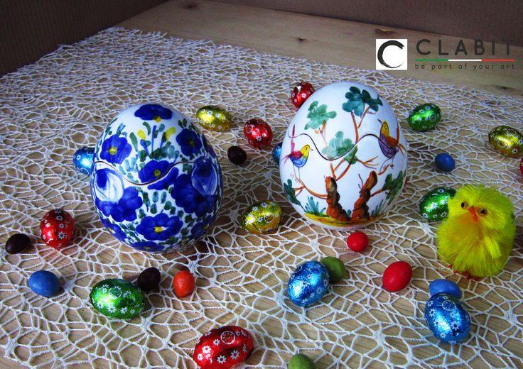 #Easter #Abruzzo #Pasqua #fioraccio #flowers #ceramic #handmade #fiori #flowers #blu #birds #trees #uccellini #alberi