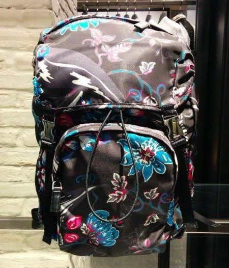 Prada #zaino #backpack #flower #FolliFollie #collection