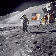 The Moon landing conspiracy theories claim that some or all elements of the Apollo program and the associated Moon landings were hoaxes staged by NASA and members of other organizations. Various groups and individuals have made such conspiracy claims since the mid-1970s. The most notable claim is that the six manned landings (1969–1972) were faked and that the twelve Apollo astronauts did not walk on the Moon.