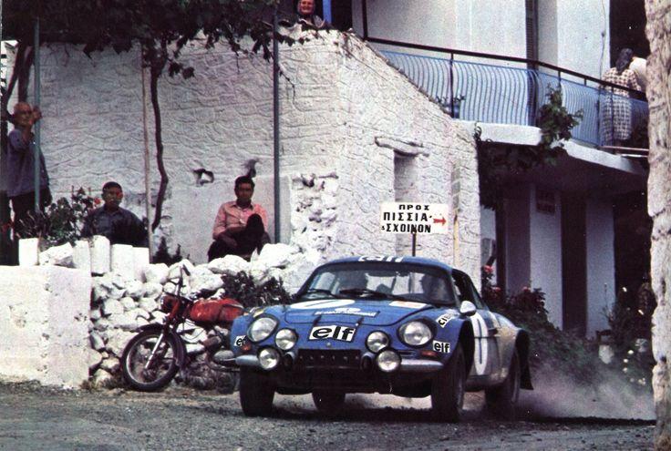 Jean-Luc Thérier (Alpine 1800) 1er rallye de l'Acropole 1973 - L'automobile juin 1973