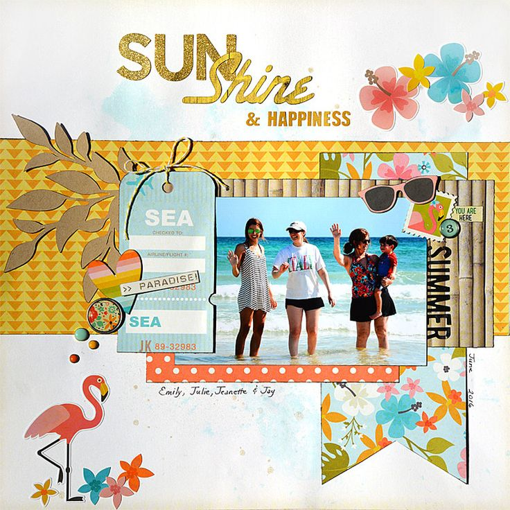 Sunshine and Happiness by MadelineFox at @studio_calico