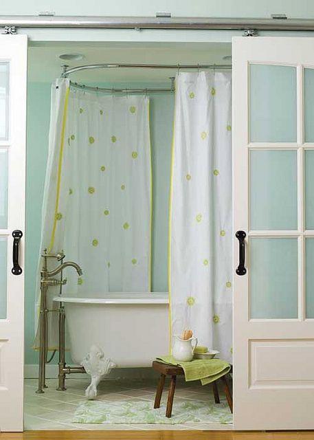 sliding door bath closure | Flickr - Photo Sharing!