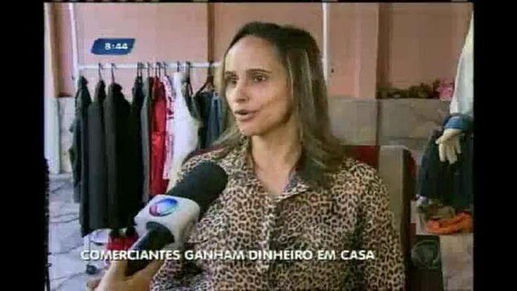 Comerciante faz bazar para vender roupa dentro de casa em BH - Vídeos - R7