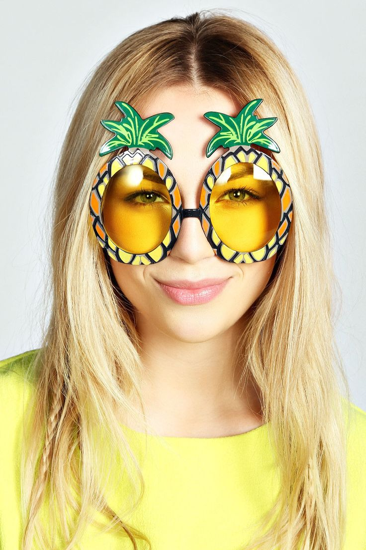 Pineapple Novelty Sunnies. Because #obviously