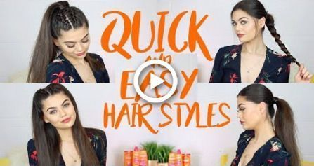 #Easy #Easy Hairstyles for toddlers #face #Hair #Hairstyles #Quick QUICK AND EAS