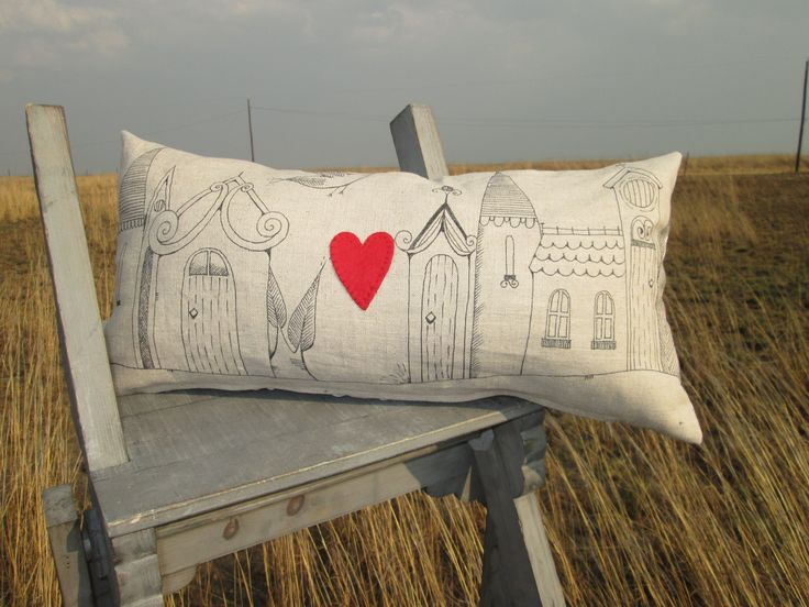 Little town Cushion