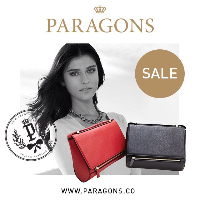 SALE! Sales for all bag items. Don't miss out the chance to save $$$.   www.paragons.co