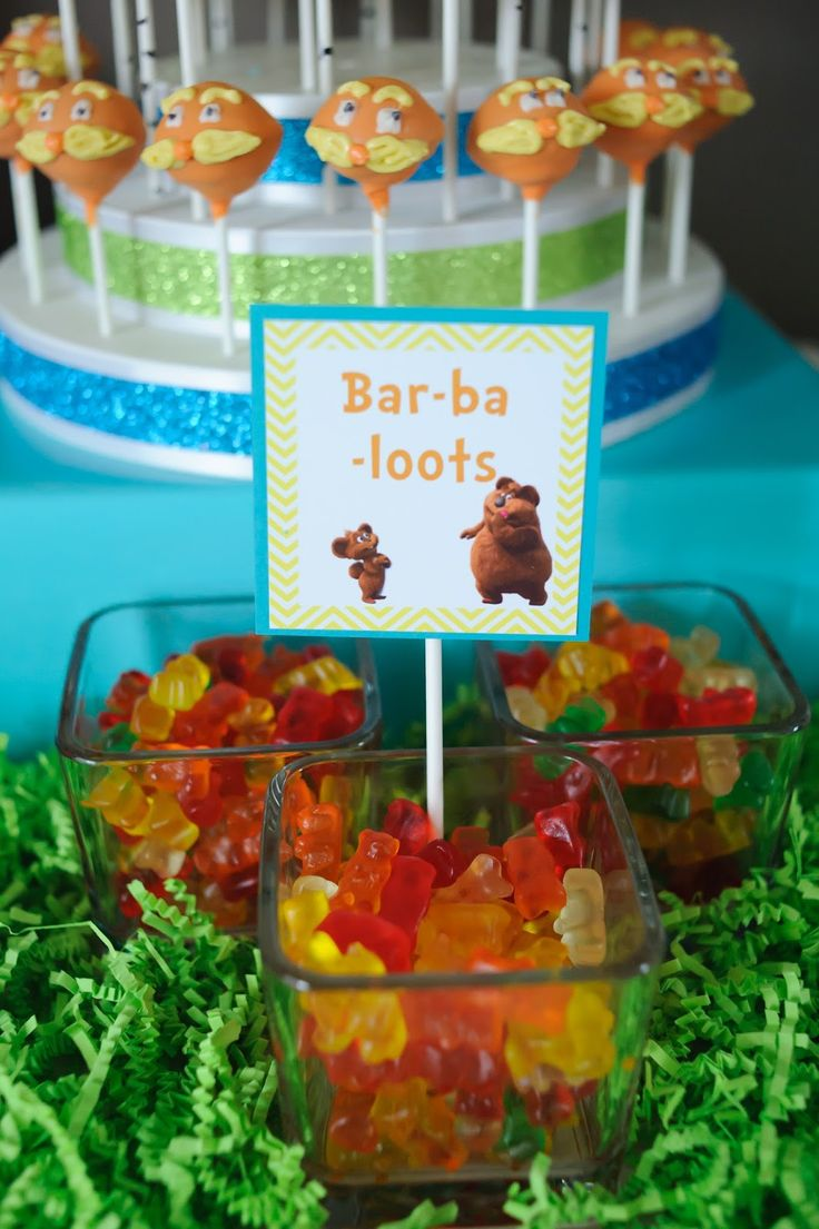 Foster's Lorax Party: The Toddler Table