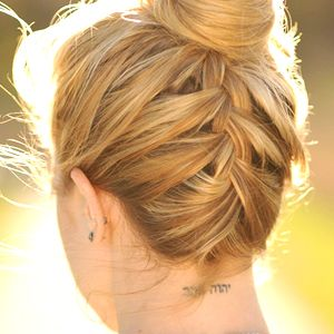 .French Braids, Cute Easy To Do Hairstyles, Cute Gym Hairstyles, Upside Down Braid, Hair Style, Summer Hairstyles, Braids Buns, Waitress Hairstyles, Easy Bridesmaid Hairstyles