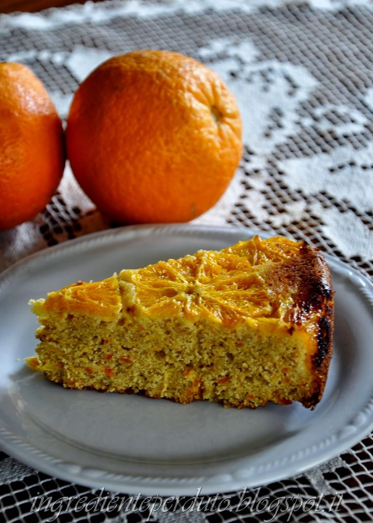 polenta cake orange-i maghi delle spezie