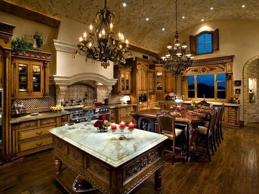 French country design if i become a millionaire - Best kitchen designers in the world ...