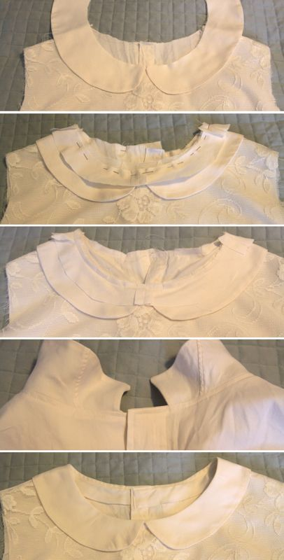 lace front blouse {refashioned from a men's button down}