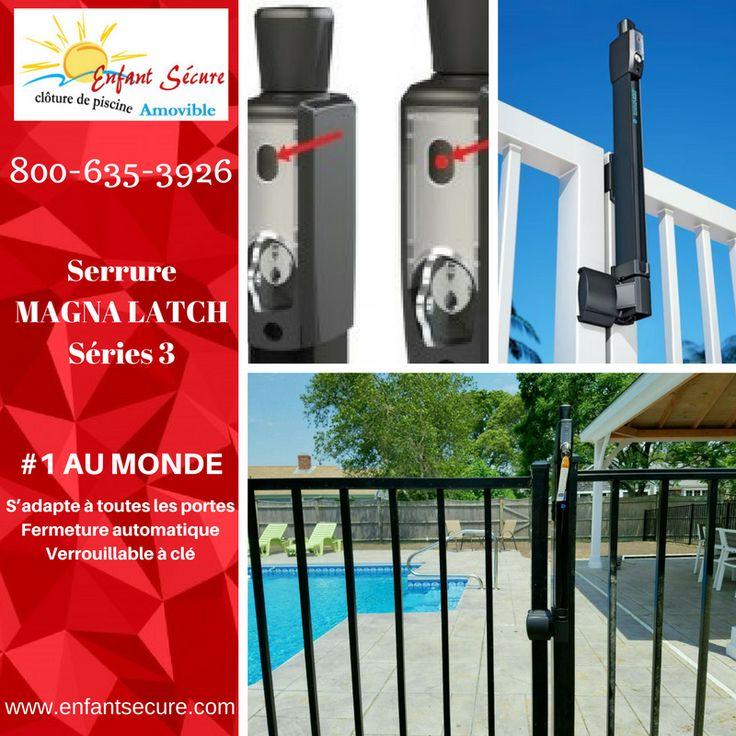 39 best Child Safe removable pool fence images on Pinterest Black - changer la serrure d une porte