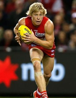 Isaac Heeney deserves comparison to Fremantle superstar Nat Fyfe, Sydney Swans teammate Dan Hannebery says.