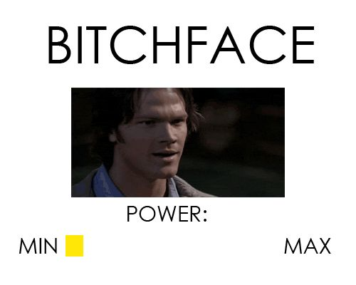 Which only turns your resting bitchface into ACTUAL bitchface, and that's some scary shit. | 22 Problems All People With Resting Bitchface Will Understand