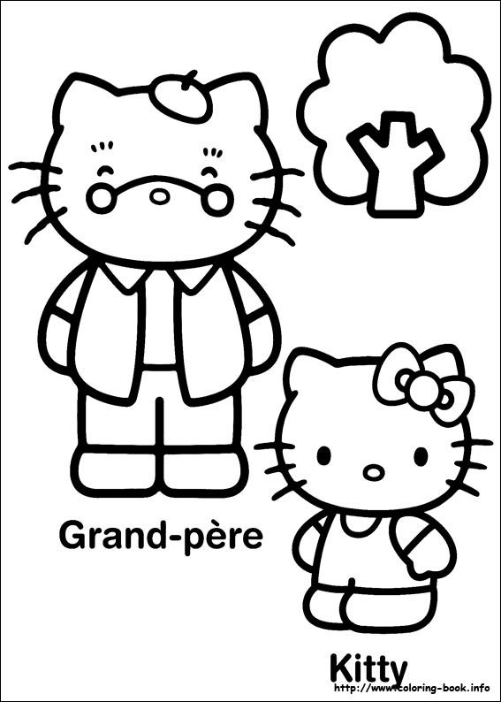 133 besten Hello Kitty Coloring Pages Bilder auf Pinterest ...