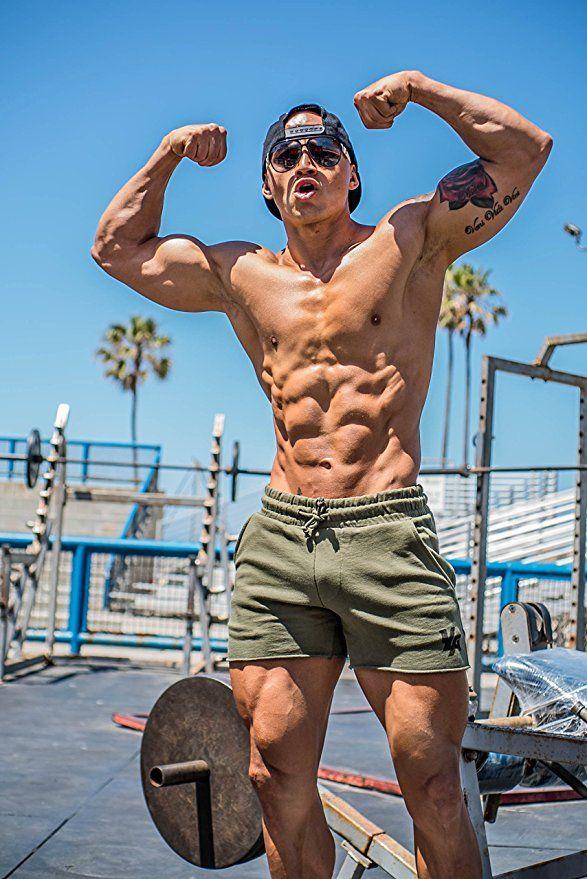 YoungLA Mens Bodybuilding Gym Workout Shorts 102