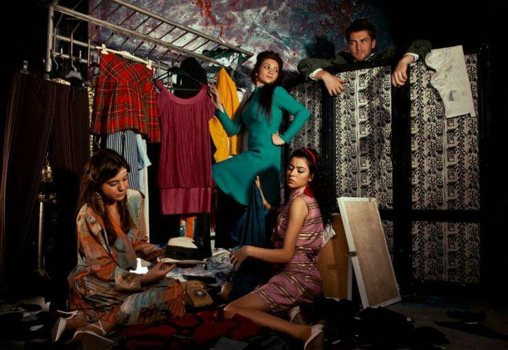 #fashion #moda #satiliksanat #bahadirderici #concept #1960 #1970 #1980 #woman #girl #photography