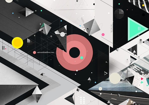 Geometrics by Piotr Em, via Behance