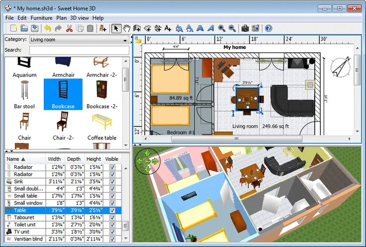 Moving? Getting new furniture? Considering a different layout for a room? Free virtual floorplan software will save you a head and back ache.