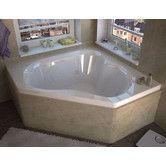 "Found it at Wayfair - Tobago Dream Suite 60"" x 60"" Air and Whirlpool Jetted Bathtub"