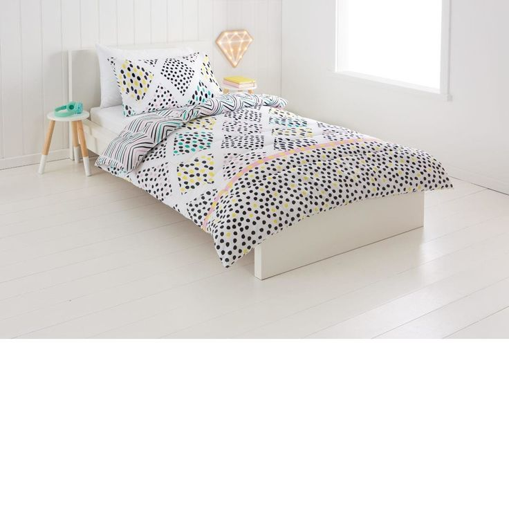 Reversible Olivia Comforter Set - Single Bed | Kmart