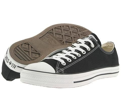 Black and white always the best choice: Chuck Taylors, Converse All Star, Converse Chuck Taylor, Favorite Shoes, Style, Black Converse, Converse Shoes, All Stars