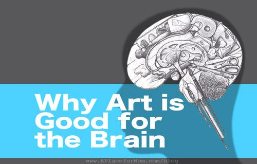 "Why Art Therapy is Good for the Brain another wonderful way to present our talents and serve the community...I have a friend who owns ""A Place For Mom""  here in Austin, so good connection there."