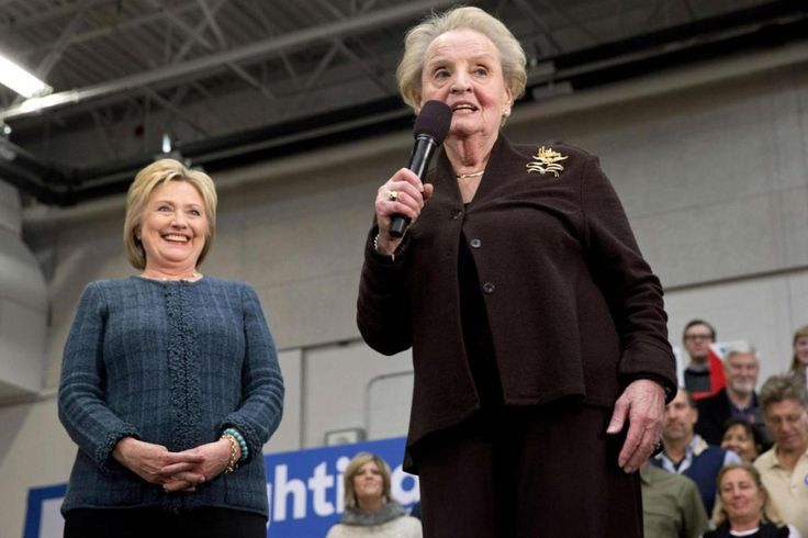 If Anyone's Going To HELL, It's MADELEINE ALBRIGHT