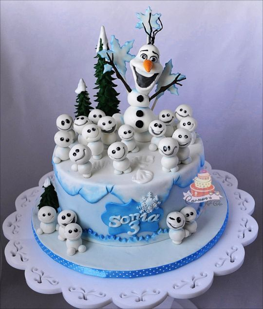 Cake Decoration Olaf : 25+ Best Ideas about Olaf Cake on Pinterest Fondant olaf ...