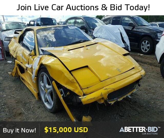Salvage 1997 FERRARI ALL MODELS For Sale