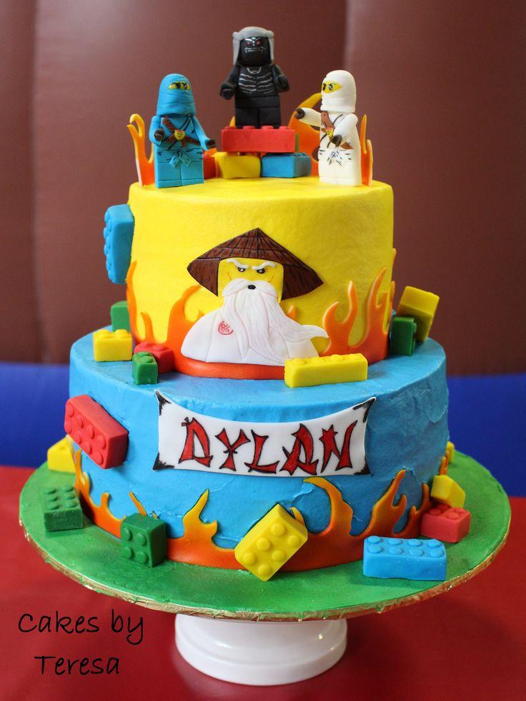Cake Decoration Ninjago : 393 best ideas about My Cake Creations on Pinterest
