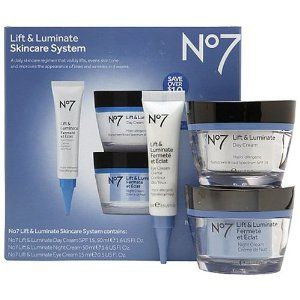 Boots No7 Lift and Luminate 3 Piece Skincare System Includes Eye Cream, Day Cream and Night Cream - See more at: http://supremehealthydiets.com/category/beauty/skin-care/skin-care-sets-kits/#sthash.4nnAJ1pE.dpuf