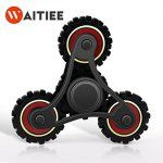 Waitiee Fidget Hand Spinner Jouet à doigts – High Speed 2-5 Minute Spins Stress Reliever Reducer Anxiety ADD Killing Time pour adultes et…