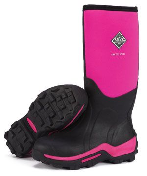 PINK MUCK BOOTS!!! I see this as an anniversary present ;)