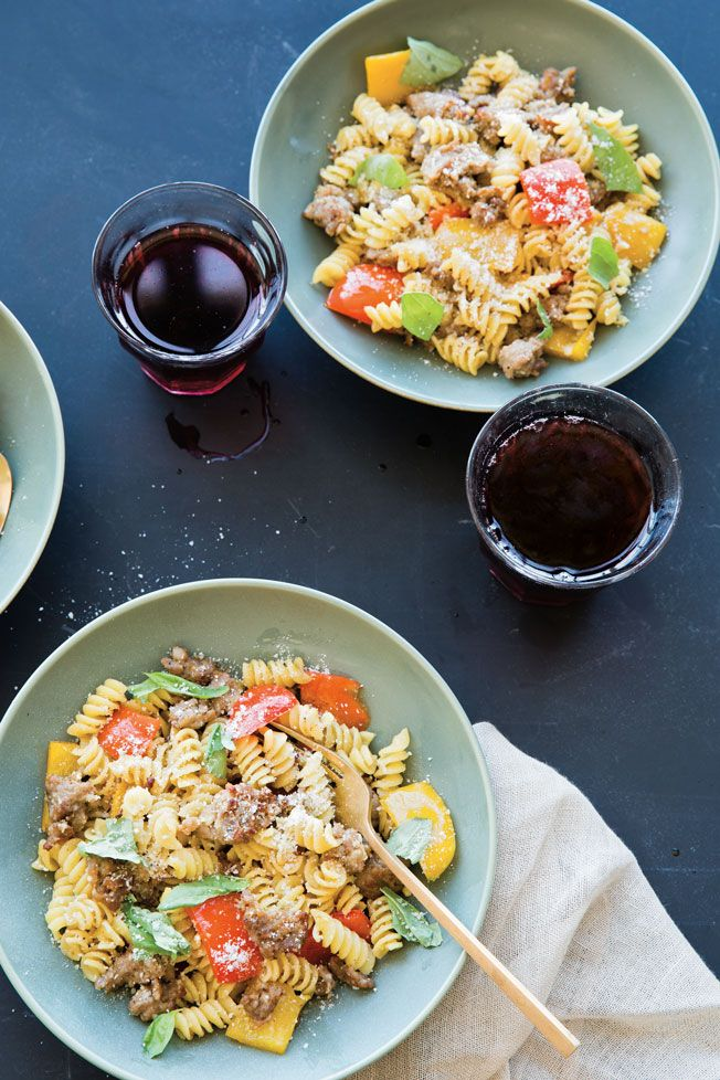 Yellow and red bell peppers are packed with vitamins and make for a colorful presentation in this delicious and healthy easy weeknight dinner. The recipe ... read more