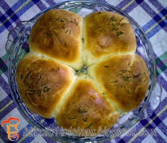 Citra's Home Diary: Cheesy Rosemary Bread