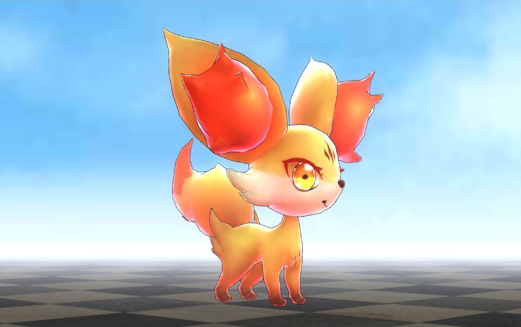 Fennekin + AR, Foxling D.F on ArtStation at https://www.artstation.com/artwork/3LRk2
