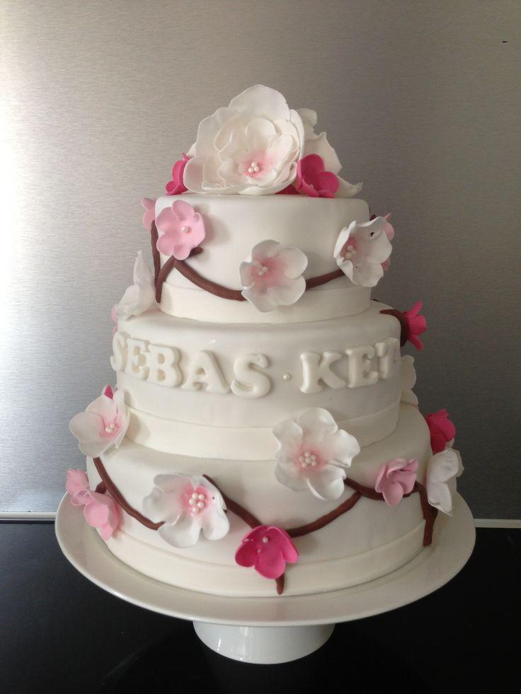 #bruidstaart #weddingcake