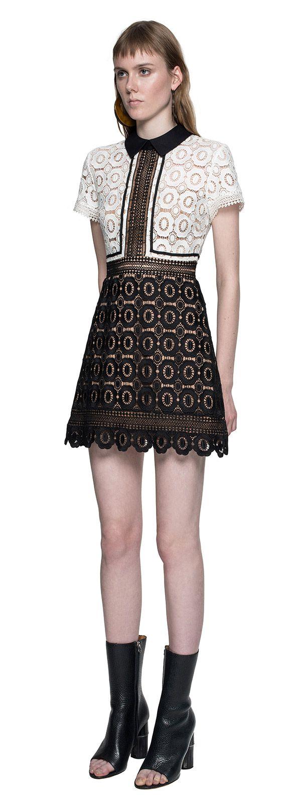 Felicia Lace Mix Dress