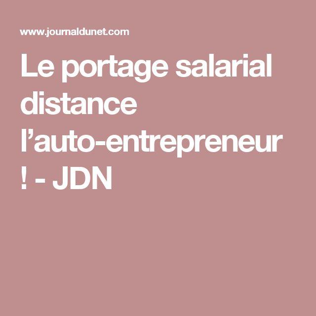 Le portage salarial distance l'auto-entrepreneur ! - JDN