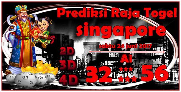 Prediksi Raja Togel Singapore Sabtu 24 Juni 2017