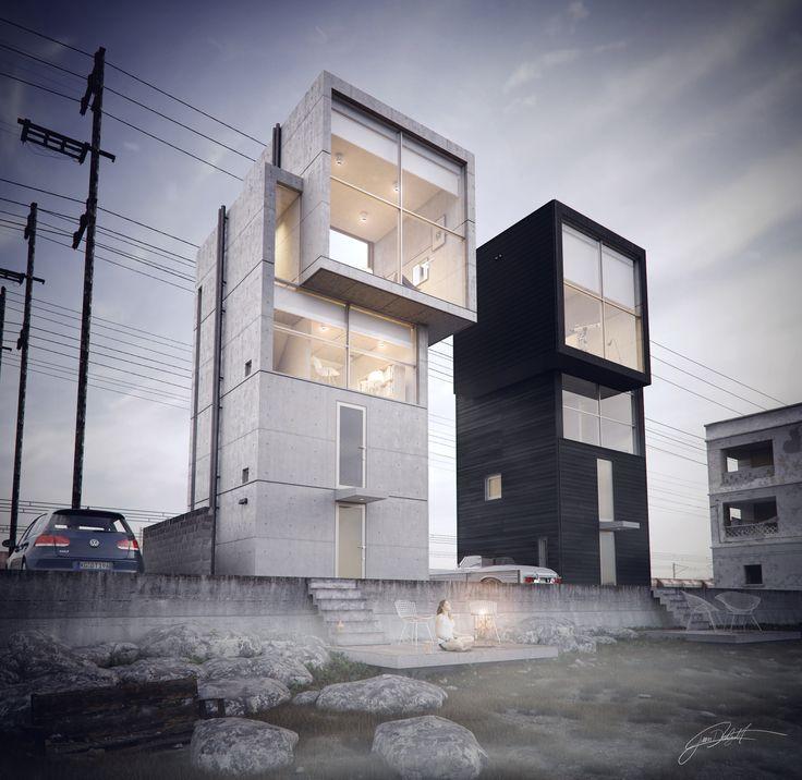 Ando 4x4 House by Juan Delgado   Architecture   3D   CGSociety