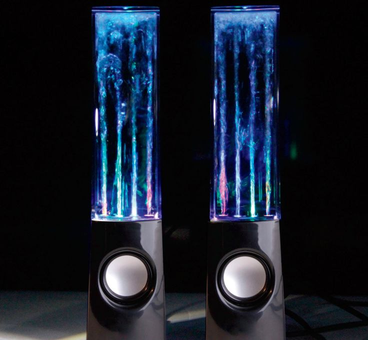 If you know an avid #Music fan, these #Dancing Water Speakers groove with the music maknig everyday feel like a concert experience.