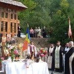 Imagini de la Parastasul de la Baia Sprie, 14 septembrie 2015. Sfintirea paraclisului inchinat martirilor din colonia de muncă de la Mina Baia Sprie