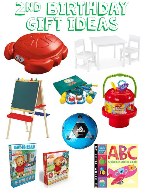 2 Year Old Birthday Gift Ideas